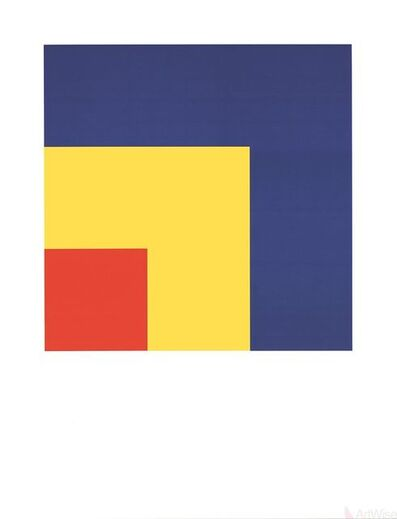 Ellsworth Kelly, 'Red, Yellow, Blue', (Date unknown)