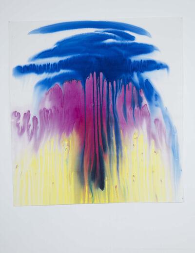 Miriam Cahn, 'atombombe', 1987