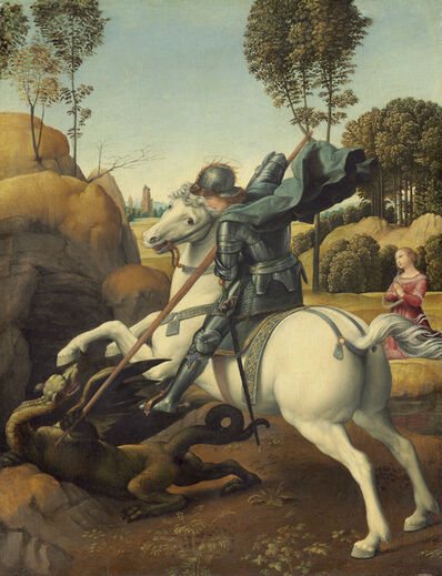 Raphael, 'Saint George and the Dragon', ca. 1506