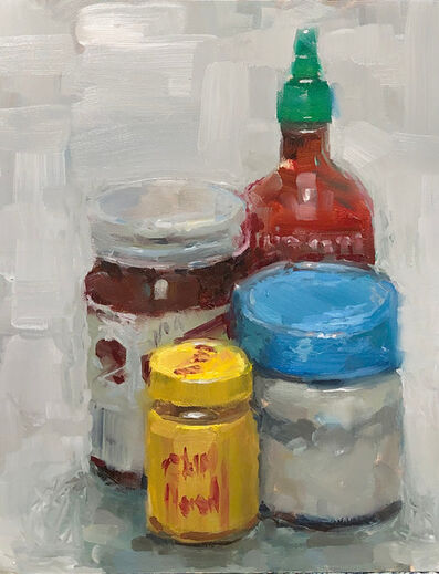 Tom Giesler, 'Still life with two sauces', 2020