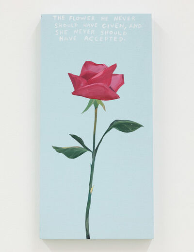 Michael Dumontier & Neil Farber, 'the flower he never should have given', 2020-2021