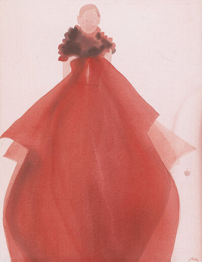 Mats Gustafson, 'Red Evening Dress (Gucci)', 2011