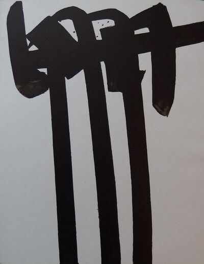Pierre Soulages, 'Lithograph n ° 28', 1970
