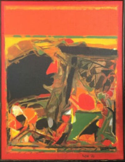 S. H. Raza, 'Gorbio', 1976