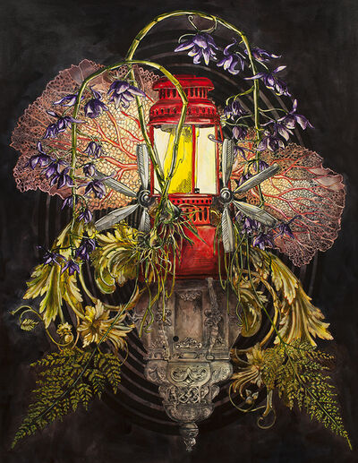 Cynthia Dinan-Mitchell, 'Red lantern', 2018