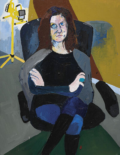 Henry Taylor, 'Andrea Bowers', 2010