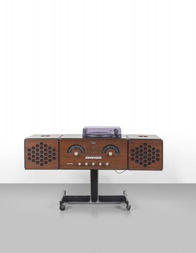 Achille and Pier Giacomo Castiglioni, 'A radiogram 'rr126' for BRIONVEGA', 1965