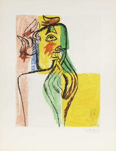 Le Corbusier, 'Unité, Planche 14', 1963