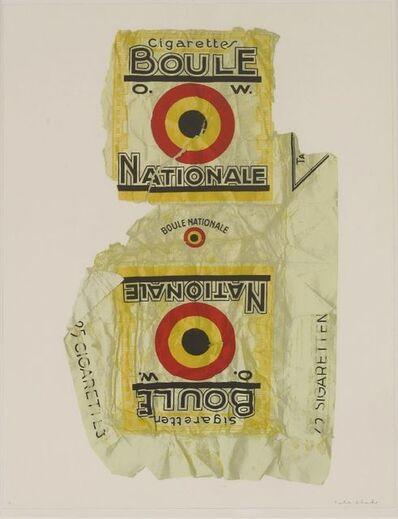 Peter Blake, 'Fag Packets (Boule)', 2004