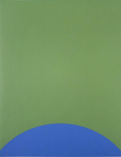Leon Polk Smith, 'UNTITLED (TAMARIND H)', 1968