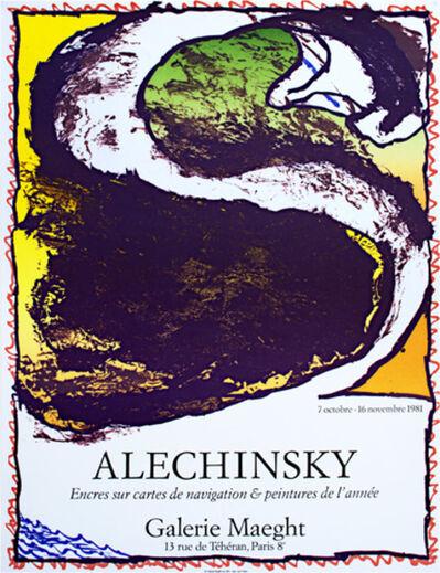 Pierre Alechinsky, 'Encres Sur Cartes de Navigation & Peintures de l'Annee', 1981