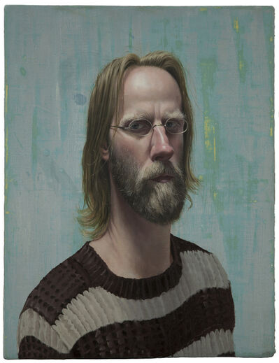 Stuart Pearson Wright, 'Self Portrait with Lockdown Hair', 2020