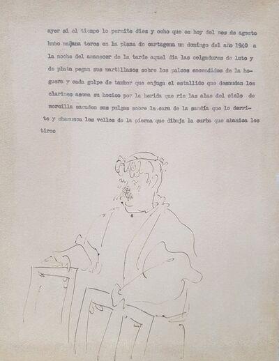 Pablo Picasso, 'Marchand de Tableau ', ca. 1940