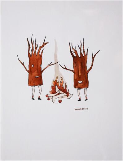 Marcel Dzama, 'Untitled (Trees)', ca. 1999