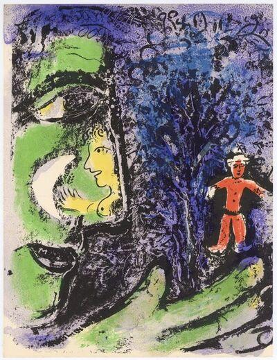 Marc Chagall, 'Le Profil et l'Enfant Rouge', 1960