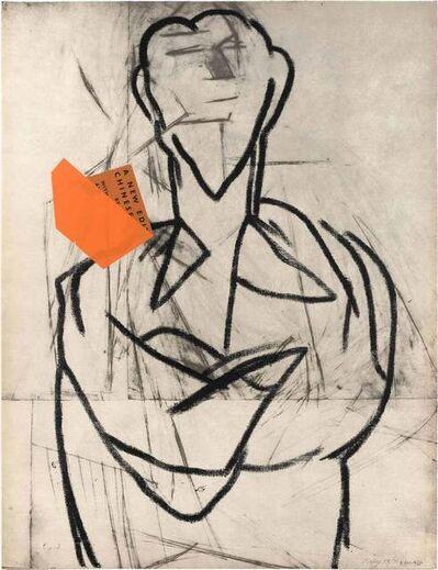 R. B. Kitaj, 'EZRA POUND II (KINSMAN 69)', 1974