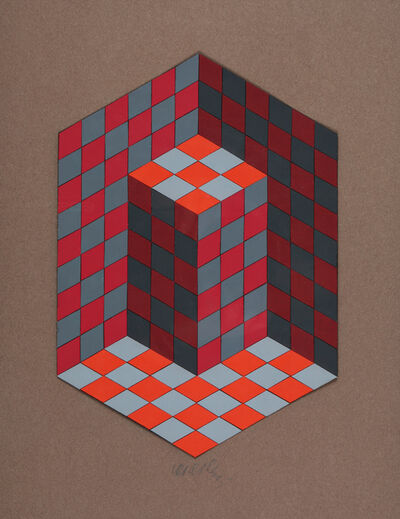Victor Vasarely, 'Composition', 1980
