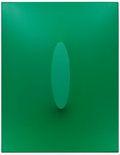 Turi Simeti, 'Green power', 1967