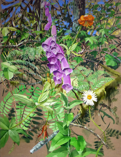Chris Russell (American, BORN 1983), 'Fox Glove', 2018