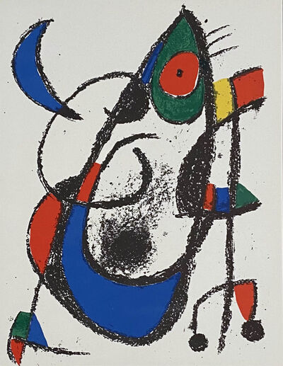 Joan Miró, 'Plate XI', 1975