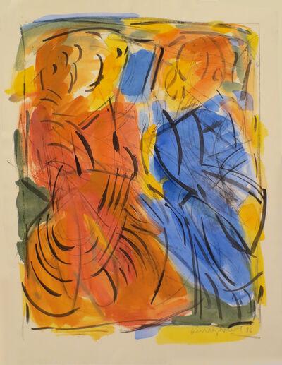 Oleg Kudryashov, 'Painting, Two Figures (I)', 1996