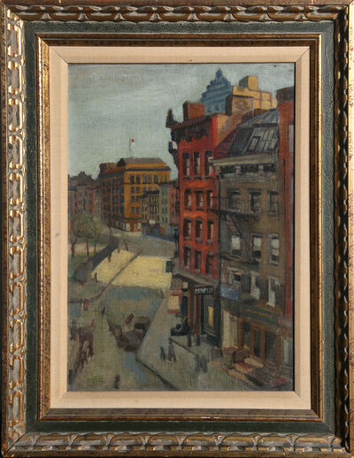 Raphael Soyer, 'City Street', ca. 1930