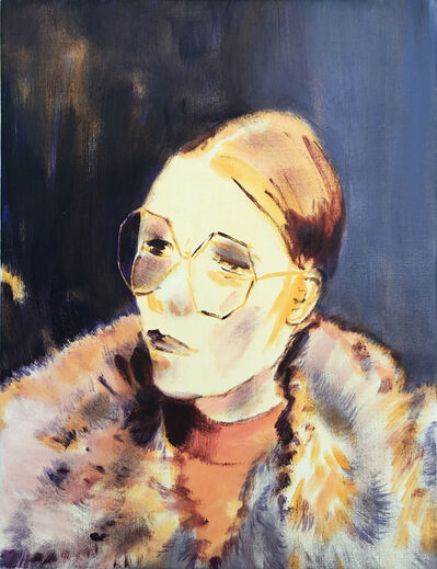 Lindsey Bull, 'Sunglasses and Fur Coat', 2019