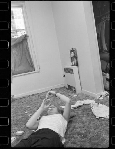 Jim Goldberg, 'Casper, Peter's Youth Shelter, Los Angeles, California', 1991