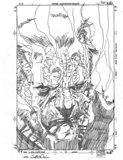 Steve McNiven, 'WOLVERINE (2010) #71, Cover OLD MAN LOGAN (Gore Cover Prelim)', 2010
