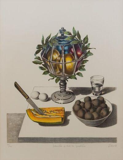 Enrique Grau, 'Hambre y sed de justicia', 1980