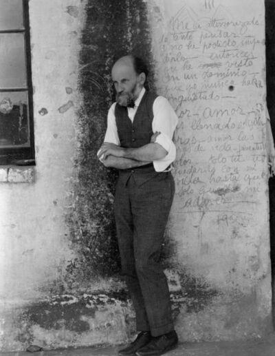 Edward Weston, 'Dr. Atl', 1926-printed circa 1940