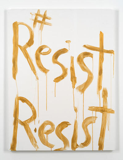Kim Gordon, '#ResistResist', 2017