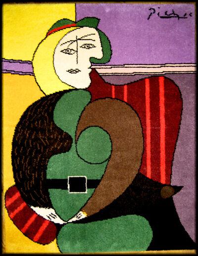 Pablo Picasso, 'Femme assise dans un fauteuil rouge', 1994