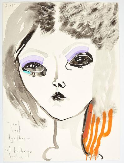 Del Kathryn Barton, 'and burst together', 2017