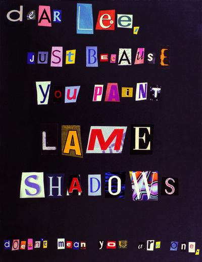 Tammy Rae Carland, 'Dear Lee', 2003