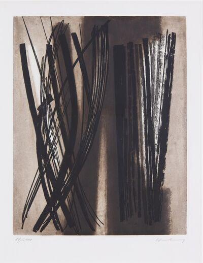 Hans Hartung, 'G6', 1953