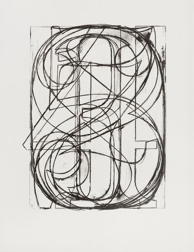 Jasper Johns, '0 through 9', 1960