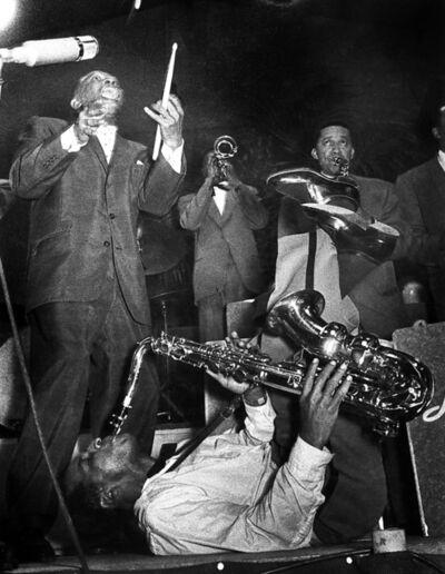 Ed van der Elsken, 'Lionel Hampton, Big Band', 1956