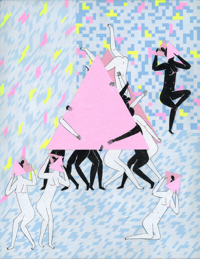 Mark Whalen, '3 Point Dancers', 2015