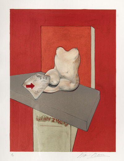 Francis Bacon, 'Study of a Human Body after Ingres', 1984
