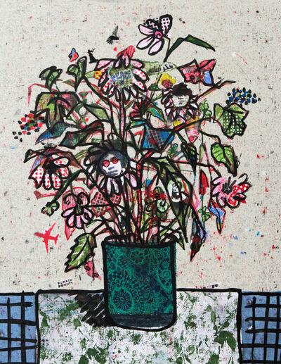 Zena Assi, 'Put it in a green liberty pot', 2020
