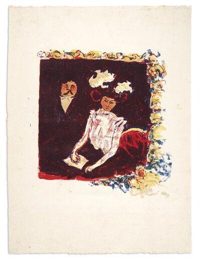 Pierre Bonnard, 'LA LOGE (BOUVET 53)', 1898