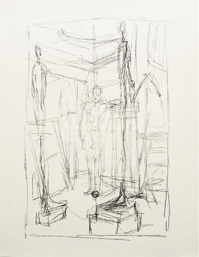 Alberto Giacometti, 'Figure in the Studio', 1954