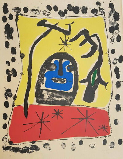 Joan Miró, 'Exhibition at the Galerie Matarasso, Nice', 1957