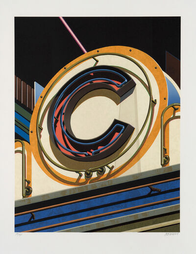 Robert Cottingham, 'An American Alphabet: C', 2010