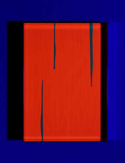 Regine Schumann, 'Fluo cut #7', 2020