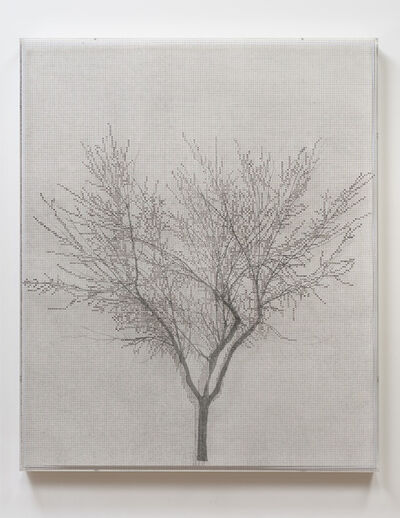 Charles Gaines, 'Numbers and Trees A: #1', 1985-2012