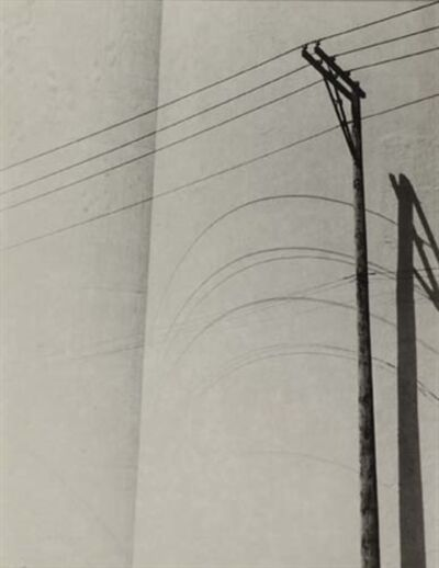 Ralston Crawford, 'Untitled (Telephone wires)', 1942