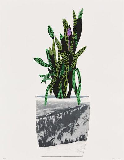 Jonas Wood, 'Untitled (Purple)', 2014