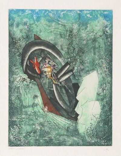 Roberto Matta, 'L'ergofrage (Naufrage du Titanic) from Hom'mere III - L'Ergonaute', 1976-1977